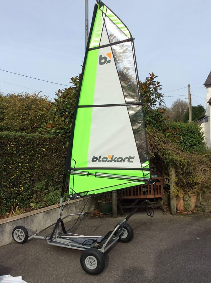 2008 Sport Kart with a 3m sail, been used 4 times, excellent condition